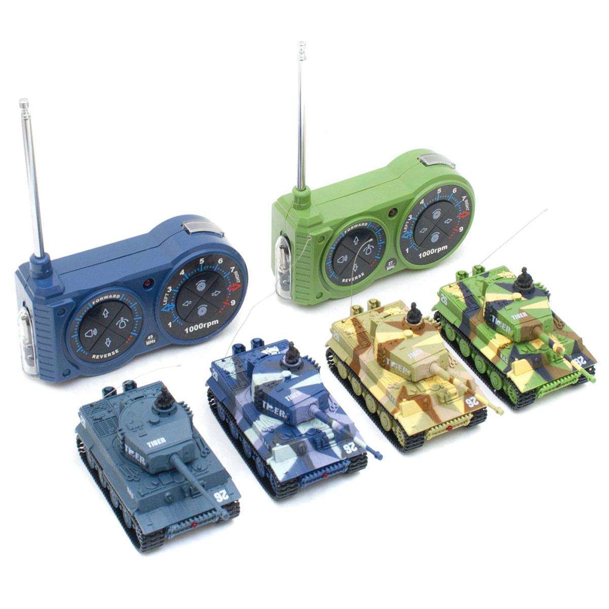 ferngesteuerter mini rc panzer kampfpanzer tiger tank. Black Bedroom Furniture Sets. Home Design Ideas