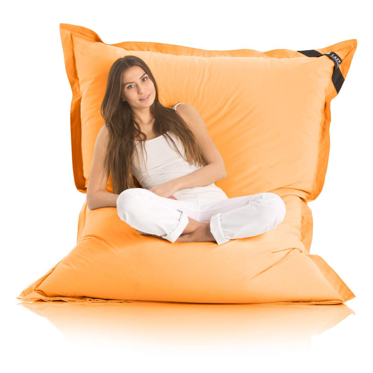 original lazy bag sitzsack xxl riesensitzsack outdoor sitzs cke xl 180x140cm ebay. Black Bedroom Furniture Sets. Home Design Ideas