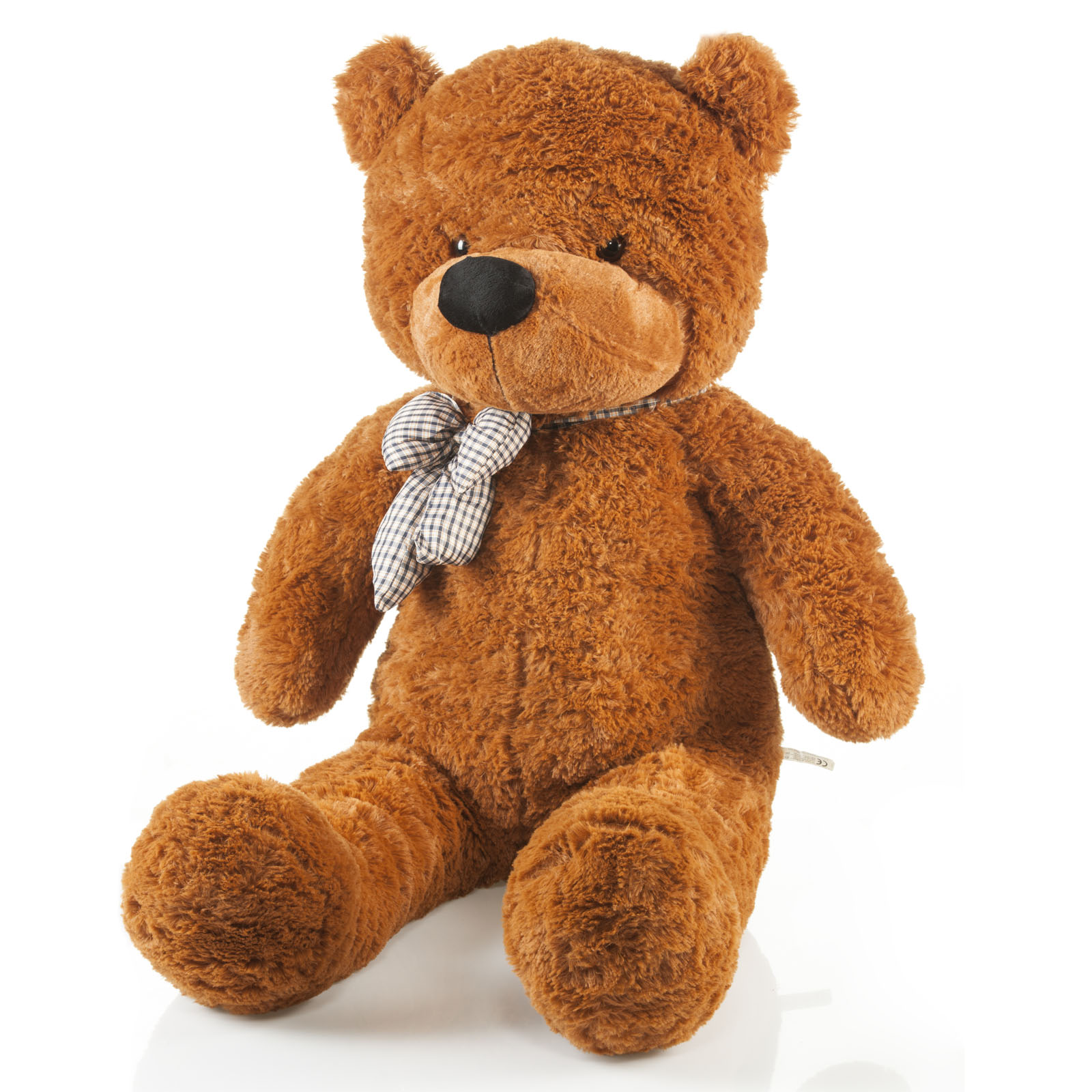 riesen teddyb r xxl gro er kuschelb r teddy b r pl schb r aus pl sch 120cm ebay. Black Bedroom Furniture Sets. Home Design Ideas