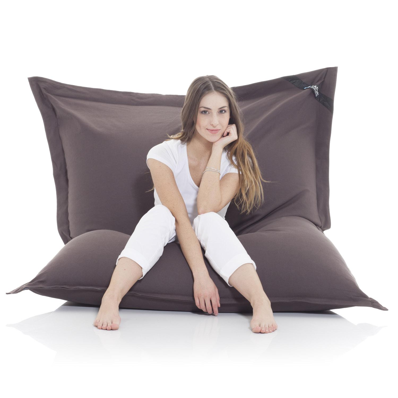 original lazybag sitzsack xxl 180x140cm aus baumwolle. Black Bedroom Furniture Sets. Home Design Ideas