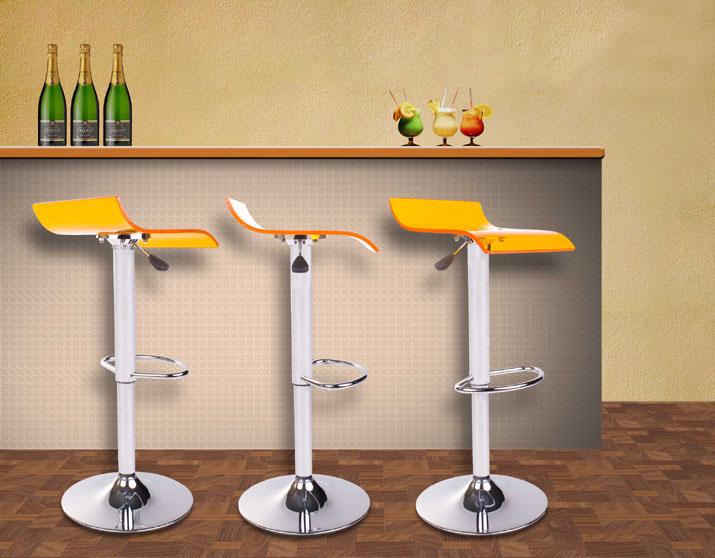 design barhocker aus acryl kunststoff designer barstuhl designer hocker stuhl ebay. Black Bedroom Furniture Sets. Home Design Ideas