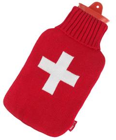 Snoozy Wärmflasche Schweiz Kreuz