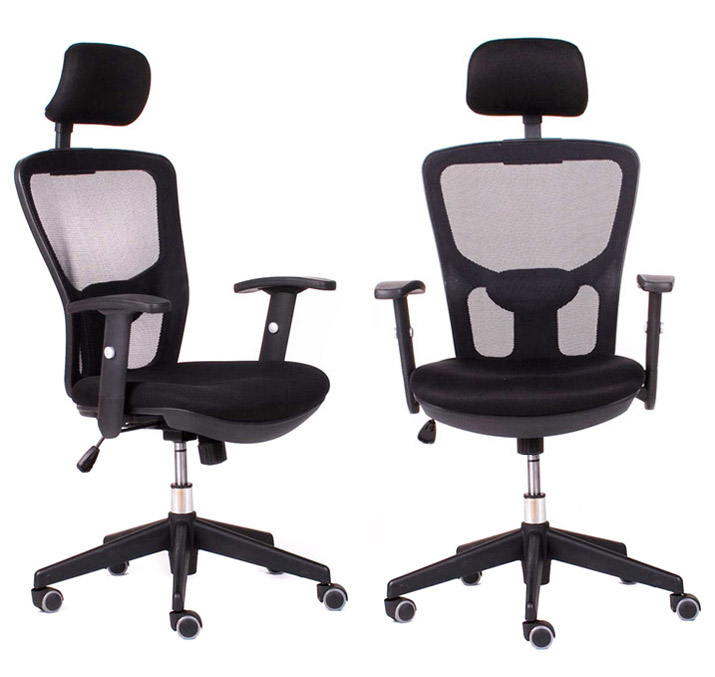 top office ergonomischer b rostuhl mit lordosenst tze ergonomie plus b rosessel ebay. Black Bedroom Furniture Sets. Home Design Ideas