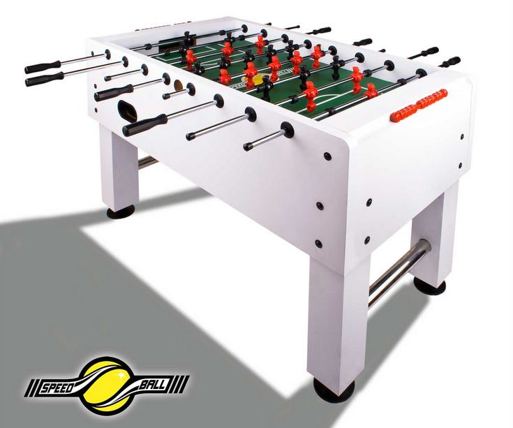 Profi turnier tischkicker kickertisch speedball kicker for Design tischfussball tisch