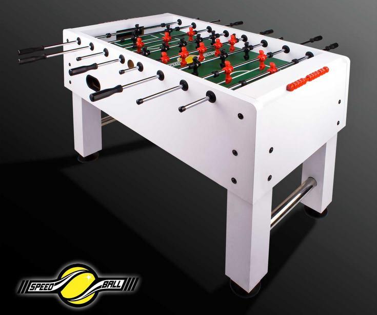 profi turnier tischkicker kickertisch speedball kicker tischfussball wei 90kg ebay. Black Bedroom Furniture Sets. Home Design Ideas