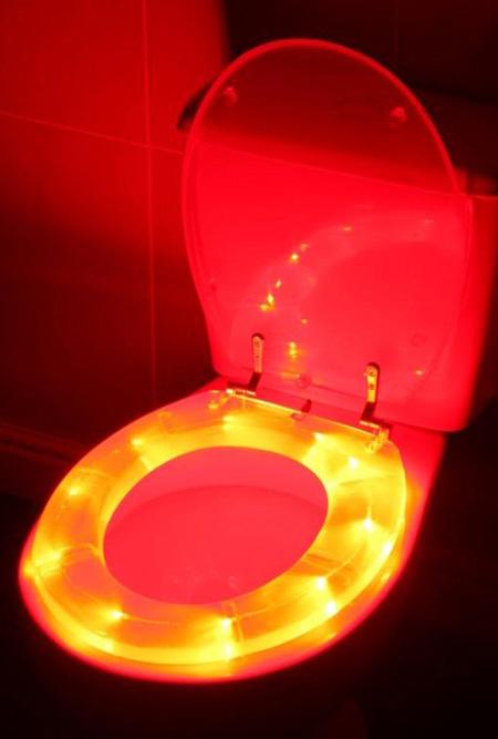 led beleuchteter 3d toilettensitz klobrille 3 d wc sitz ebay. Black Bedroom Furniture Sets. Home Design Ideas