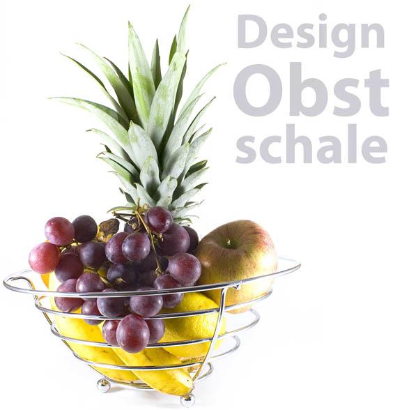 food korb obstschale designer metall obstkorb aus chrom ebay. Black Bedroom Furniture Sets. Home Design Ideas