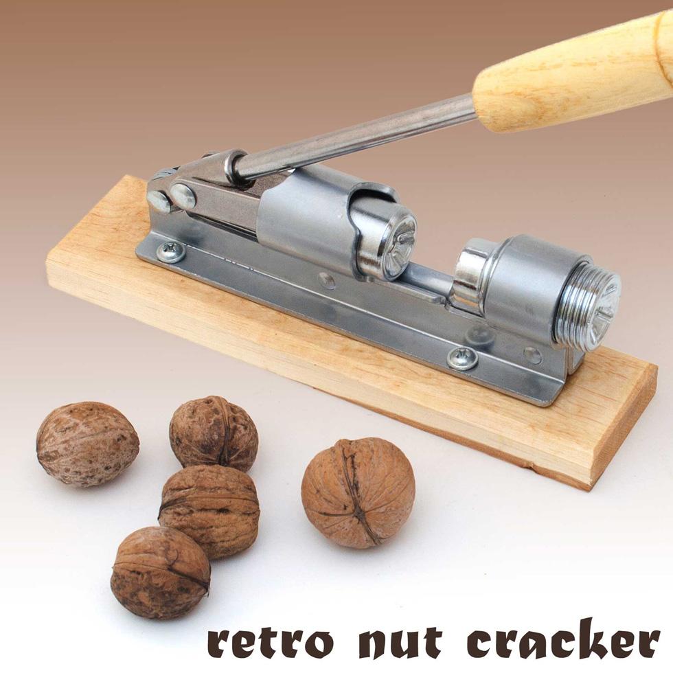 Design-Hebel-Nussknacker-RETRO-OPTIK-fuer-alle-Nuesse-mit-Echtholz-aus ...