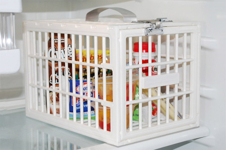 Abschließbare box kühlschrank