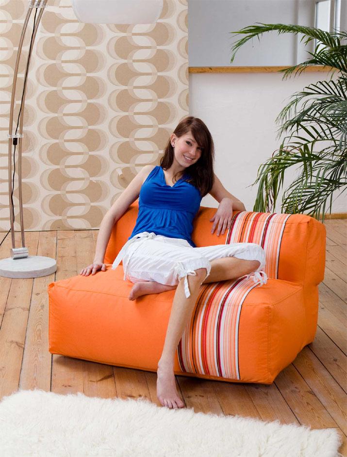xxl bean bag sitzsack sitzkissen sitzsofa 1 2 personen ebay. Black Bedroom Furniture Sets. Home Design Ideas