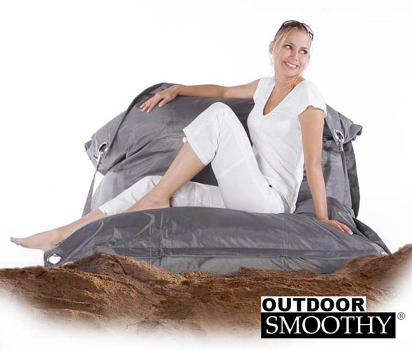 Outdoor-Smoothy-Sitzsack-Gartenliege-Sonneninsel