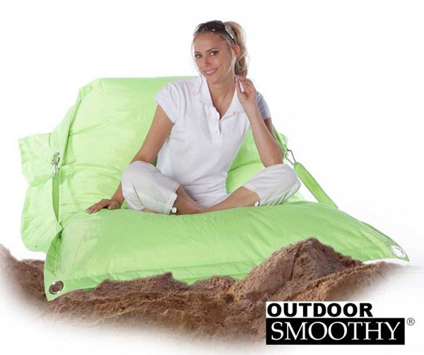 smoothy outdoor supreme sonnenliege sonneninsel outdoor sitzsack liege xxl ebay. Black Bedroom Furniture Sets. Home Design Ideas