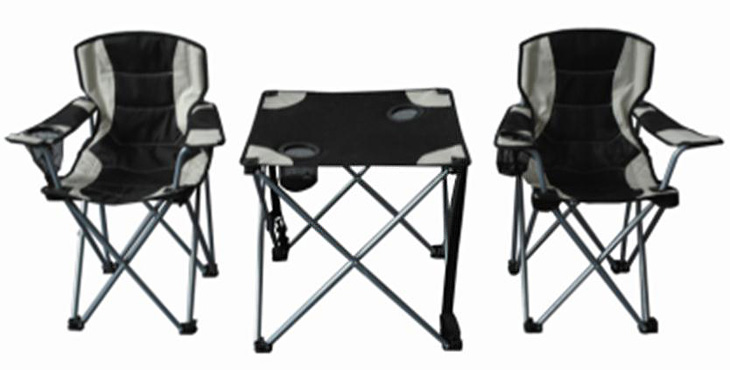 camping set 1x tisch 2x faltstuhl campingtisch faltbar ebay. Black Bedroom Furniture Sets. Home Design Ideas