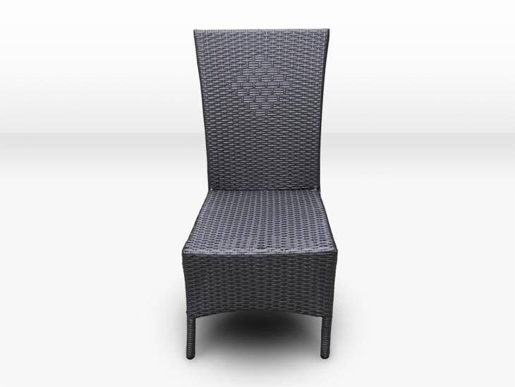 2er set poly rattan essstuhl stuhl st hle essst hle. Black Bedroom Furniture Sets. Home Design Ideas