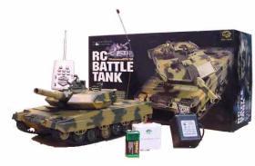 R/C Ferngesteuerter Panzer RC Modellbau Abrahams 1:24!!