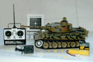 ferngesteuerter rc modellbau panzer r c tiger mehr. Black Bedroom Furniture Sets. Home Design Ideas