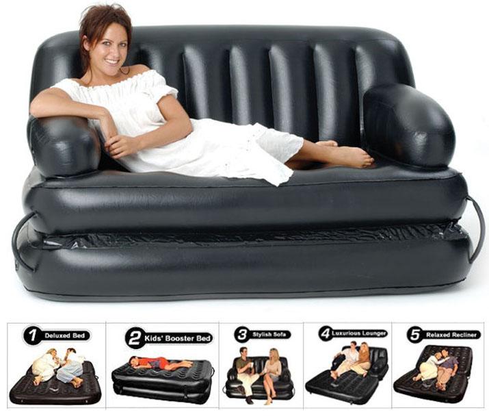 original air o space elektrisches luftbett g stebett airbed air bed luftmatratze ebay. Black Bedroom Furniture Sets. Home Design Ideas