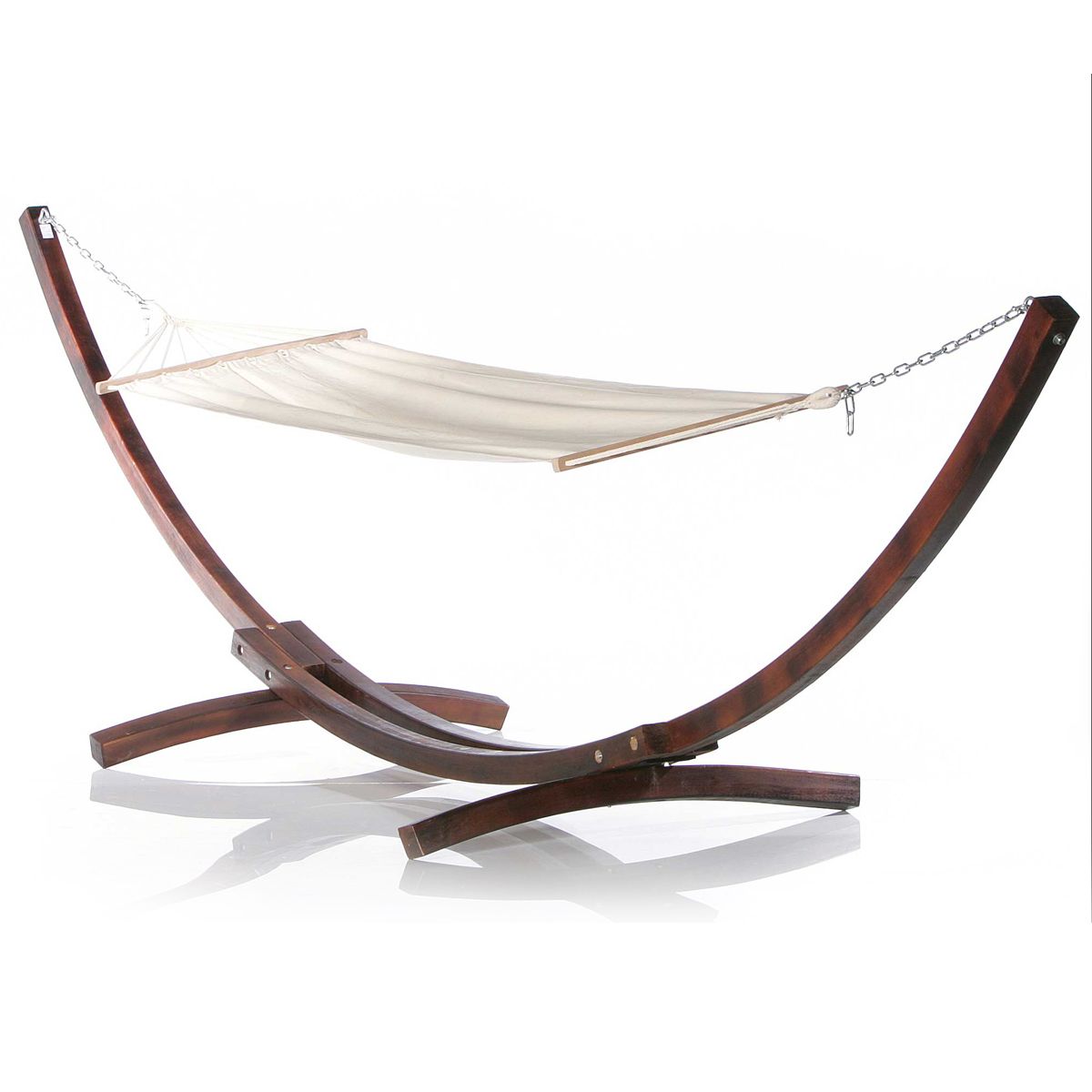 exklusive xxl h ngematte mit holzgestell hollywoodschaukel. Black Bedroom Furniture Sets. Home Design Ideas