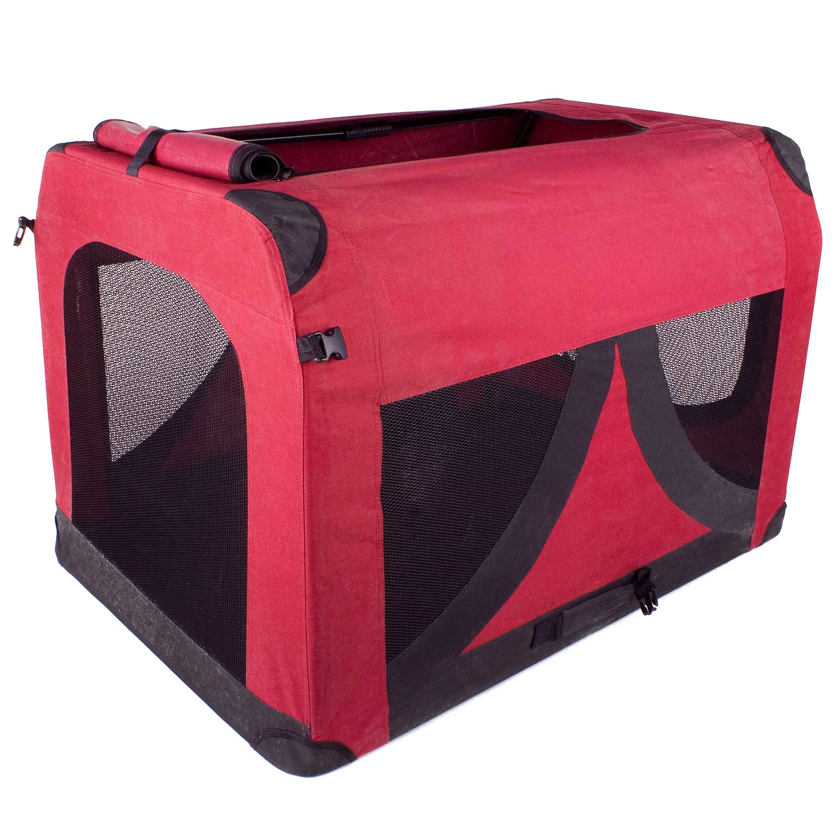 faltbare hundebox hunde transport box transportbox f r hund katzen s m l xl xxl ebay. Black Bedroom Furniture Sets. Home Design Ideas
