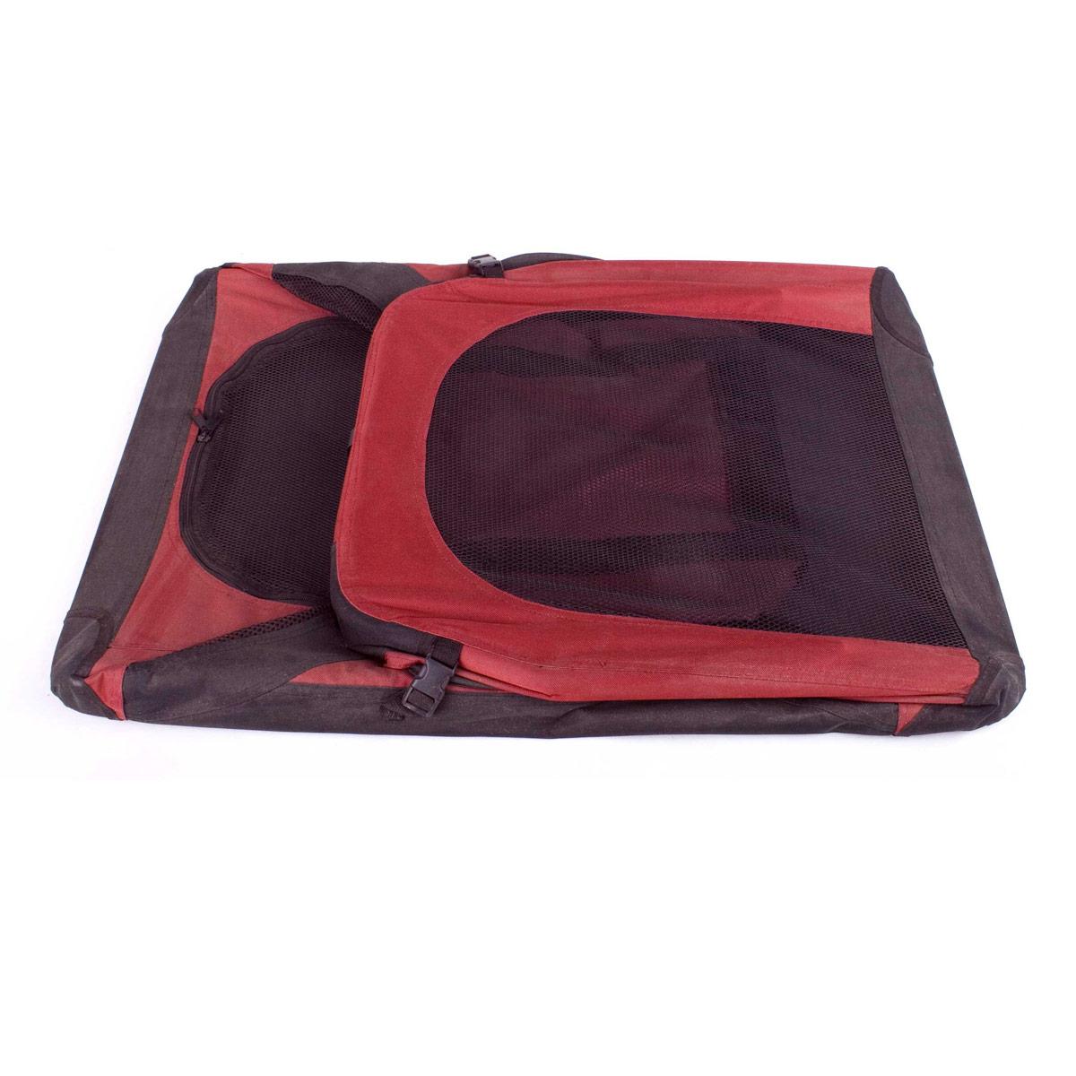 faltbare hundebox hunde transport box transportbox f r. Black Bedroom Furniture Sets. Home Design Ideas
