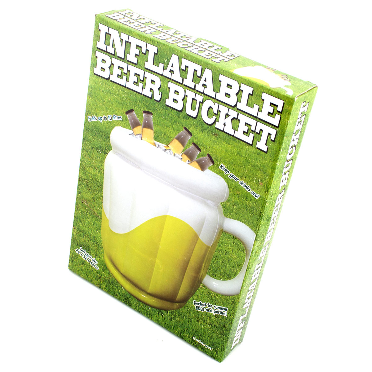 Aufblasbarer bierk hler 14 liter getr nkek hler for Bierkuhler garten