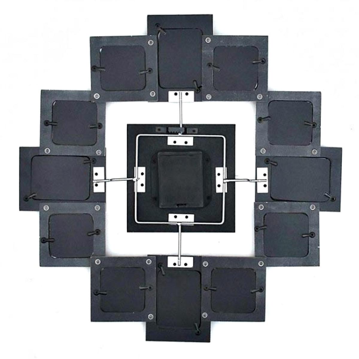 xxl bilderrahmenuhr fotorahmen wanduhr bilderrahmen uhr k chenuhr bilderuhr ebay. Black Bedroom Furniture Sets. Home Design Ideas