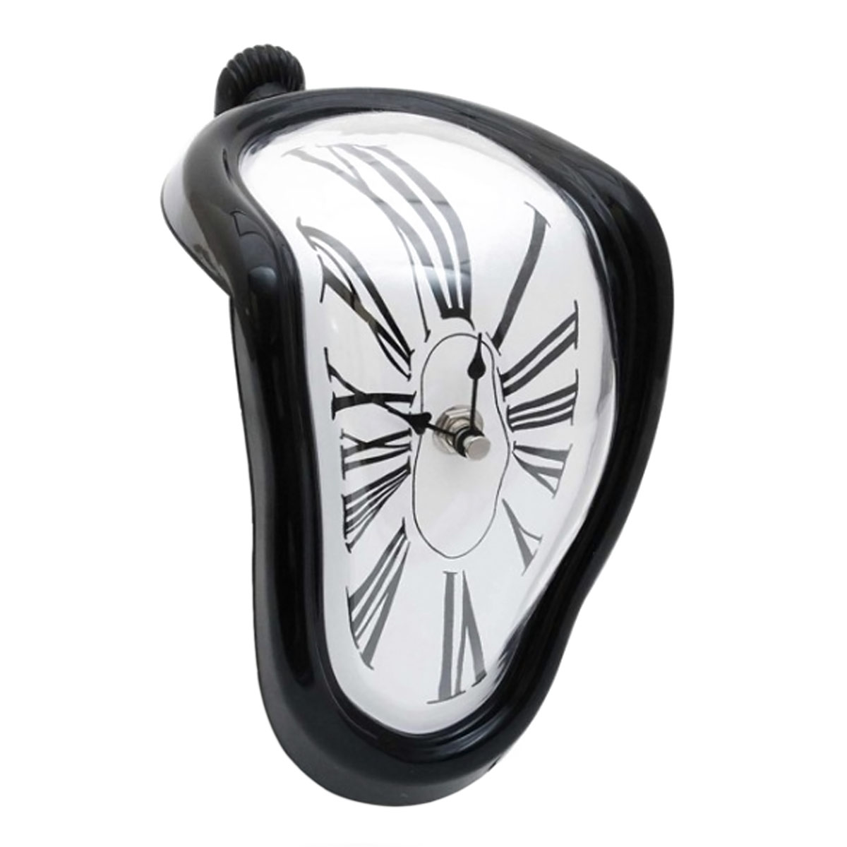 Salvador Dali Stil Schmelzende Uhr Zerfliessende Wanduhr Design Melting Clock
