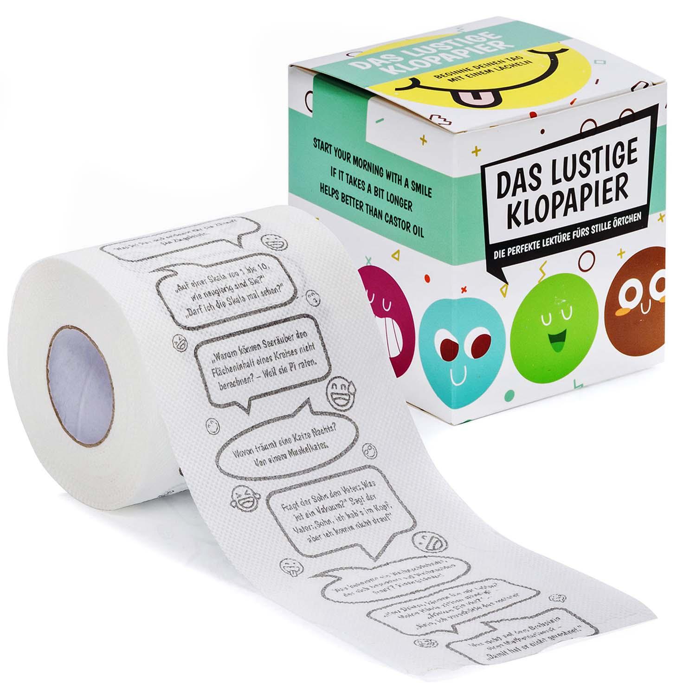 Details Zu Witze Klopapier Fun Wc Toilettenpapier Mit Den Größten Witzen Fürs Gäste Wc