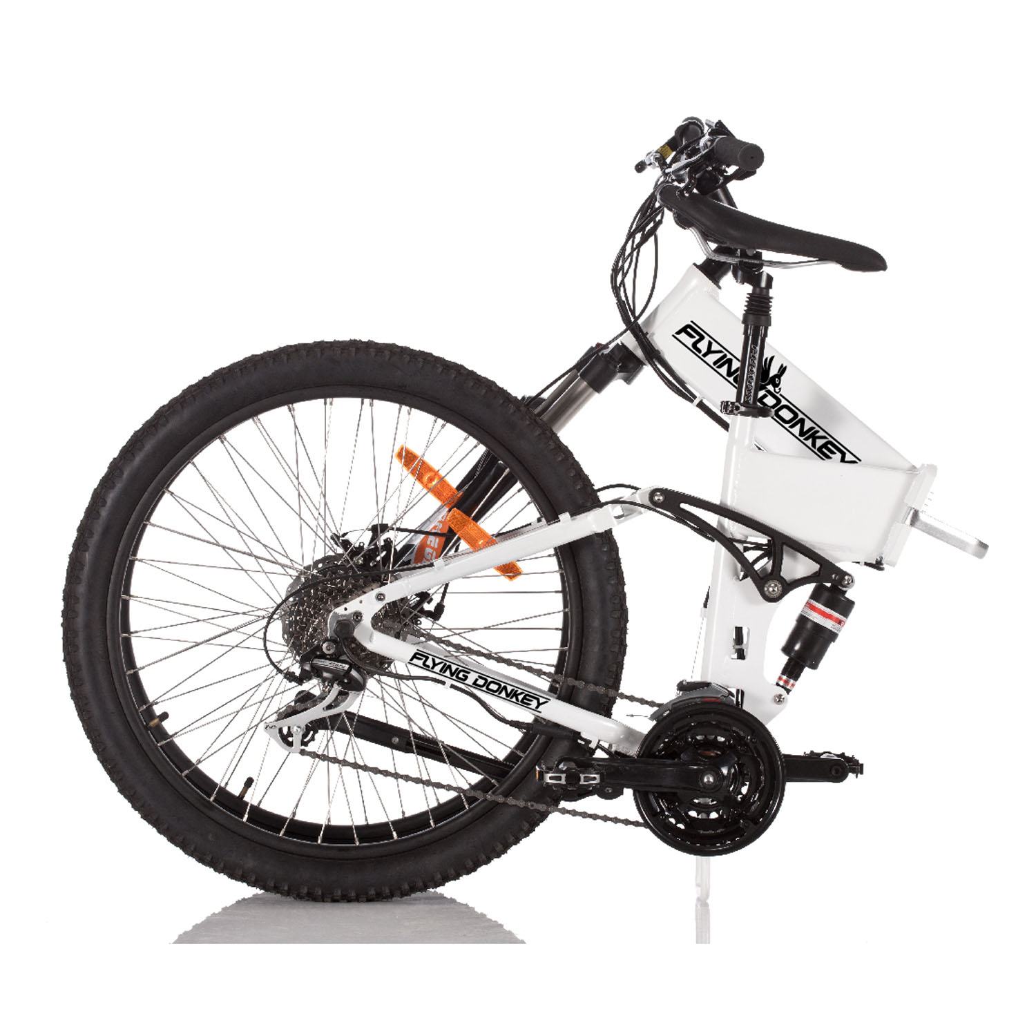 flying donkey pedelec mountainbike e bike full suspension. Black Bedroom Furniture Sets. Home Design Ideas