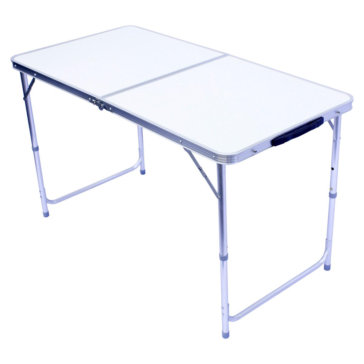 Alu table de camping table 120x60cm base pliable table pliante table de jardin aluminium falttisch