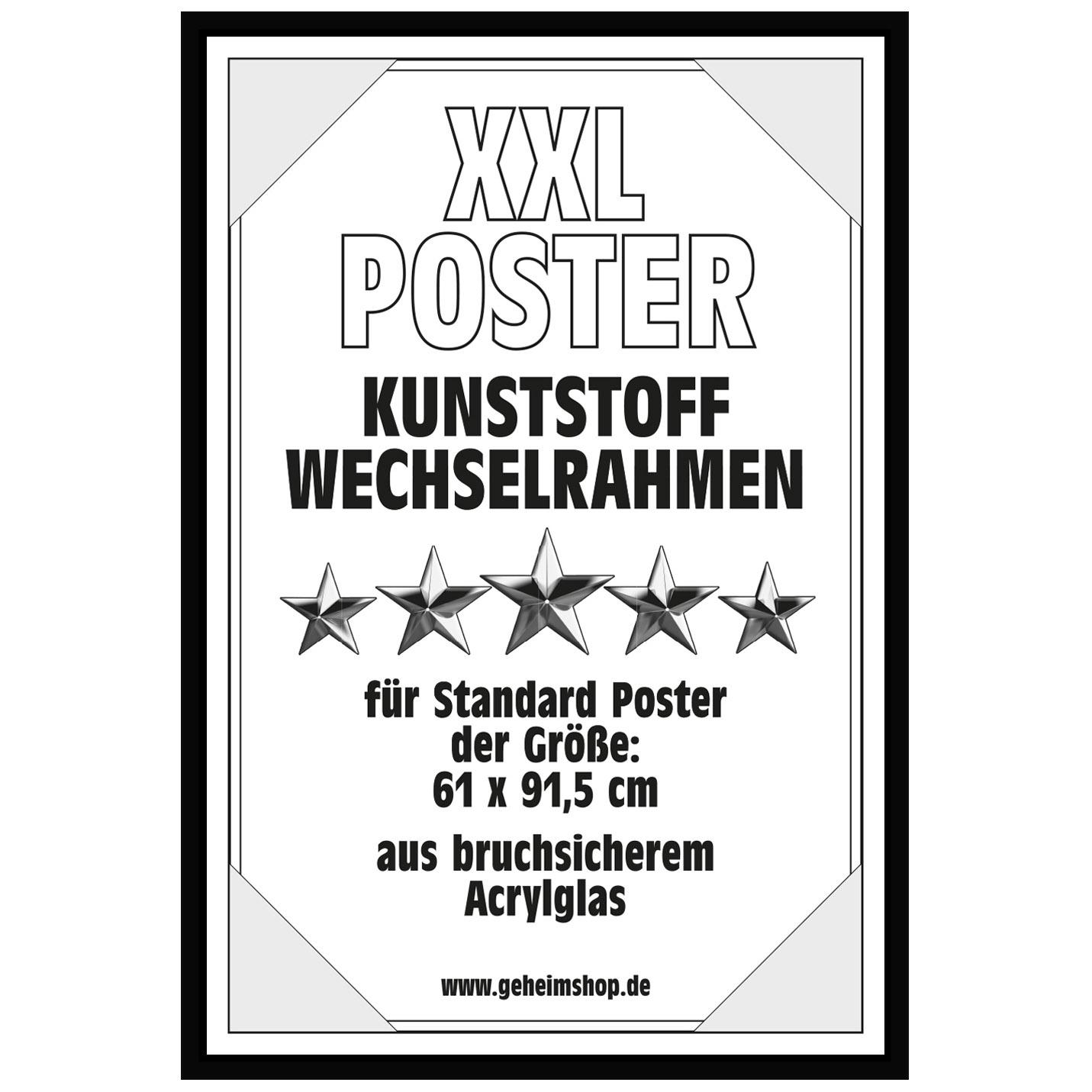 Posterrahmen Wechselrahmen Bilderrahmen Plakatrahmen für Poster 61 x ...