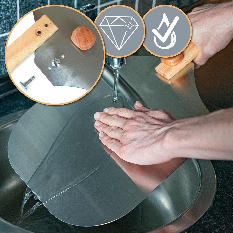 pizzaschaufel metall 80x31cm pizzaheber pizzawender ofenschaufel brotschieber xl ebay. Black Bedroom Furniture Sets. Home Design Ideas