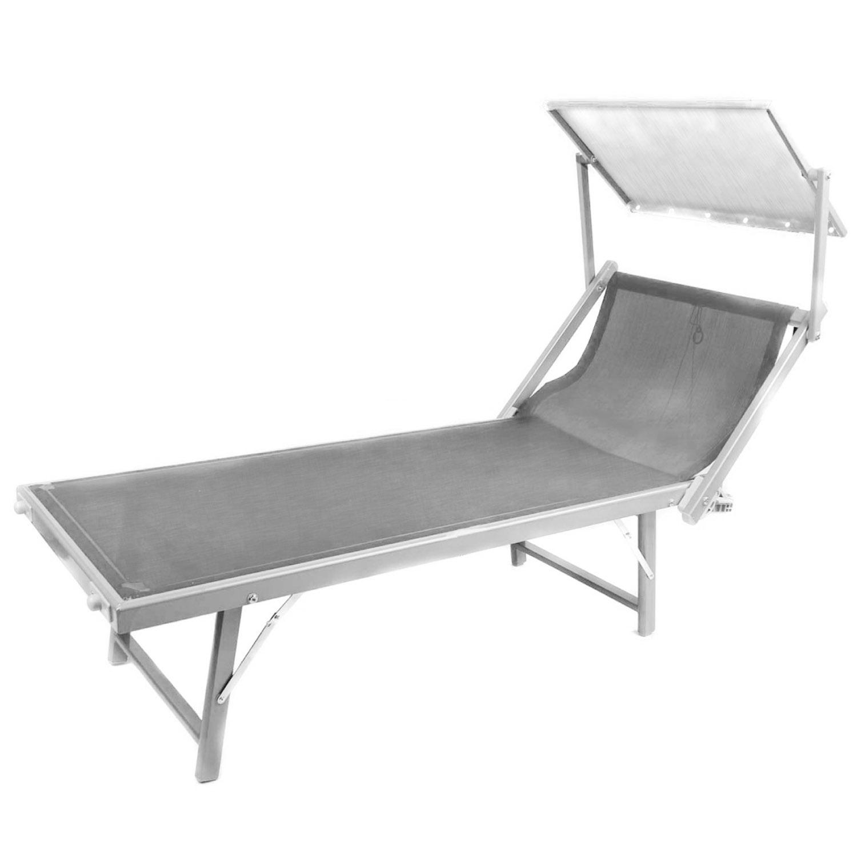 Aldi Sonnenliege Mit Sonnendach : alu sonnenliege mit dach gartenliege klappliege saunaliege relaxliege liegestuhl ebay ~ Yuntae.com Dekorationen Ideen