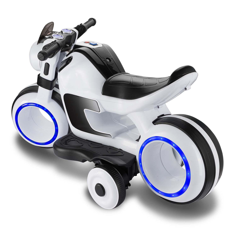 Elektro Kindermotorrad Elektrisches Motorrad für Kinder mit LED /& MP3-Player