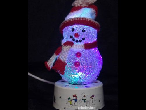 Leuchtender Schneemann – USB Gadget