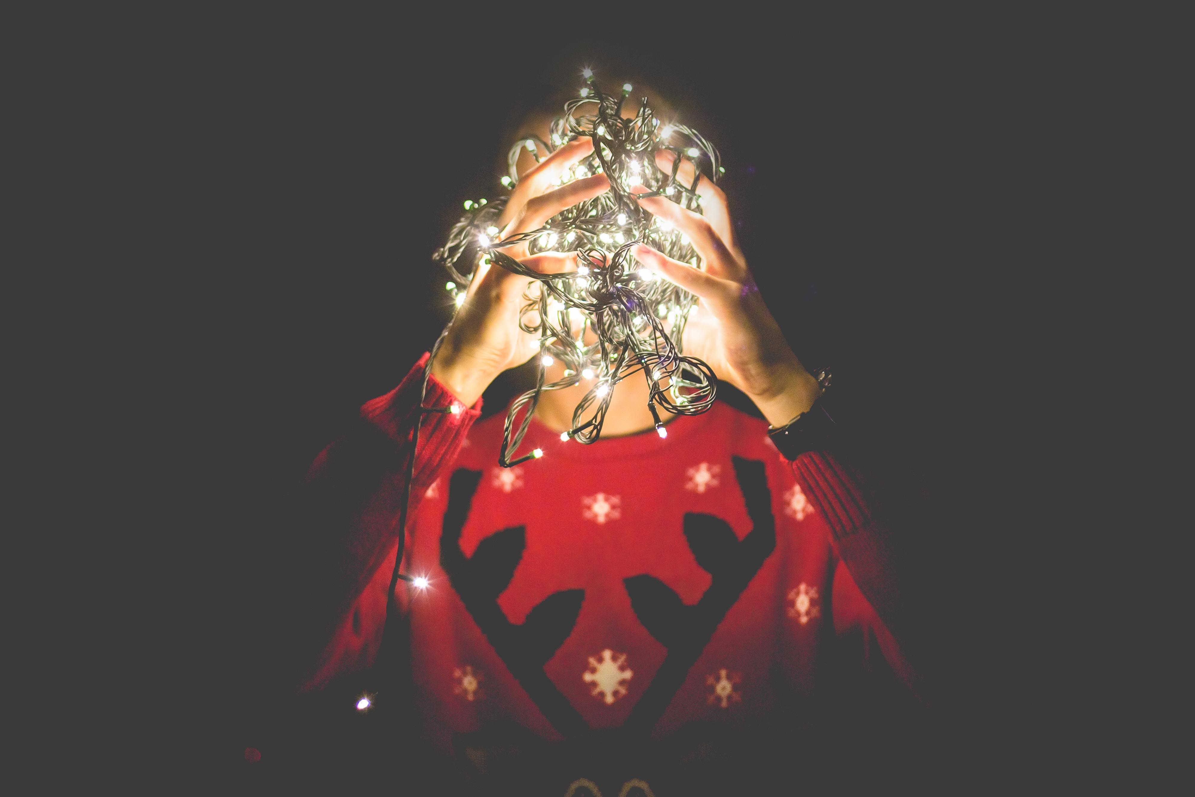 Weihnachten: Zeit + Zeug = Party!