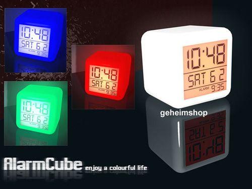 wecker mit led beleuchtung blog f r gadgets und geschenke. Black Bedroom Furniture Sets. Home Design Ideas