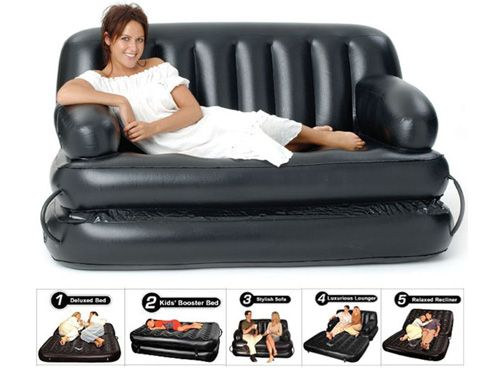 das air o space luftbett sofa zum aufblasen blog f r gadgets und geschenke. Black Bedroom Furniture Sets. Home Design Ideas