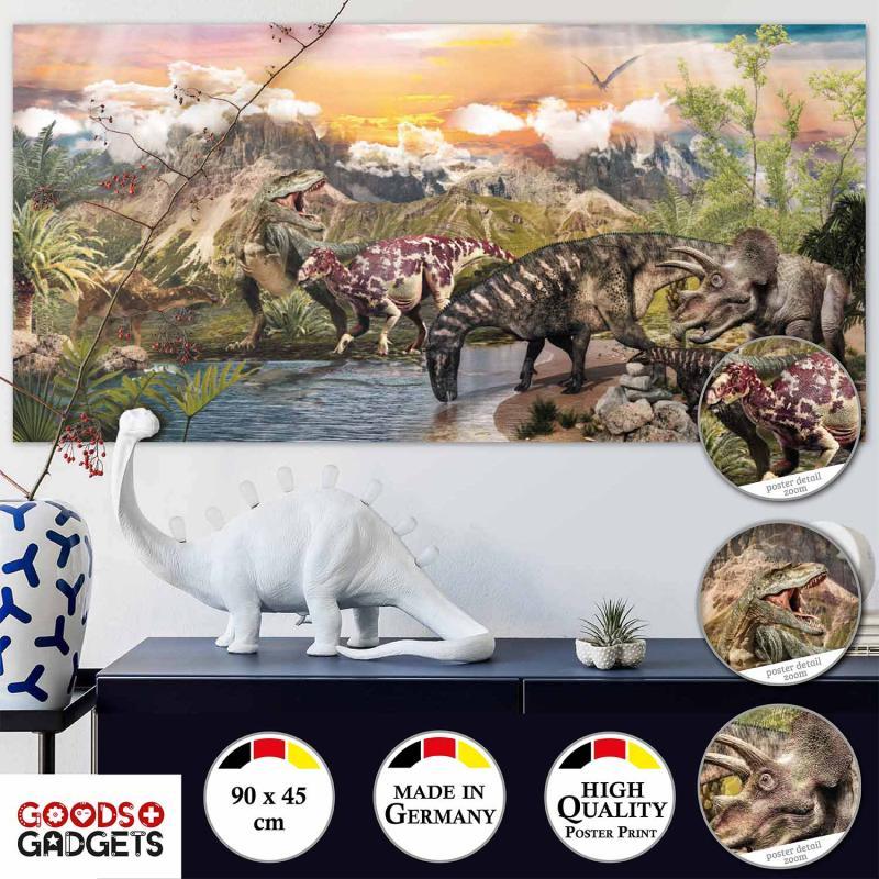 Dinosaurier Poster für Kinder
