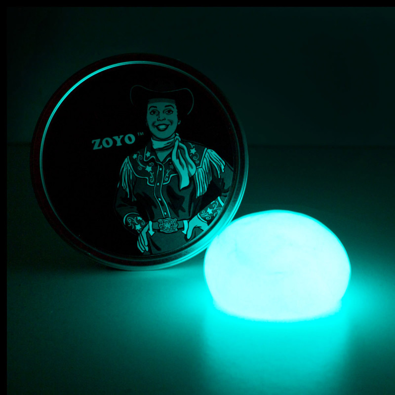 Leuchtende Knete