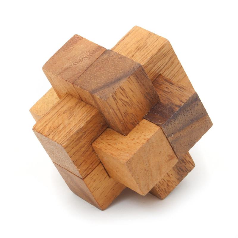 3D Holz Puzzle Knoten