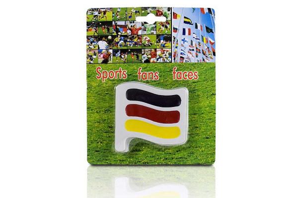 Deutschland Fan Schminke-Set