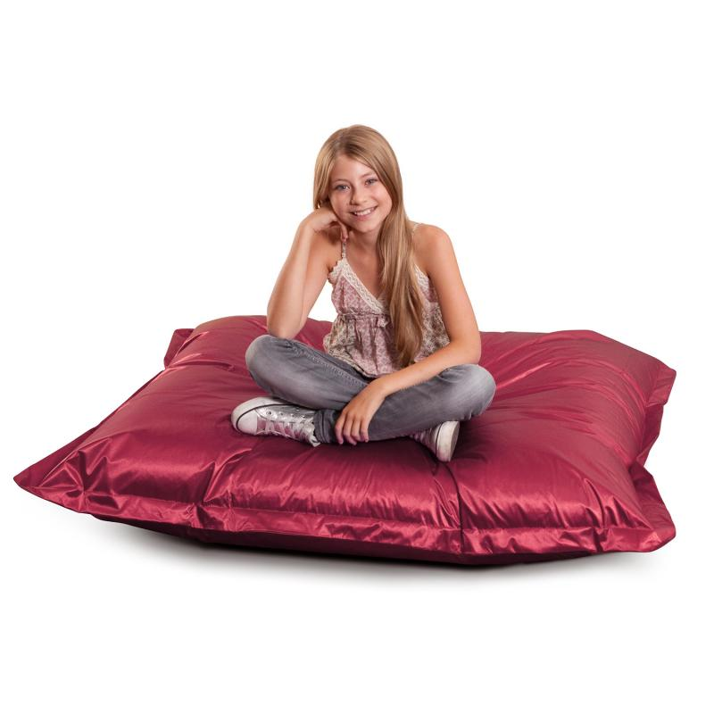 Sitzsack Junior Metallic Rot