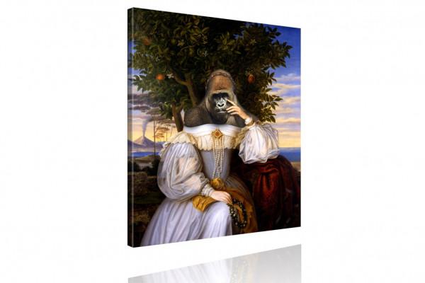 Kunstdruck: Gemälde mit Twist - Prinzessin Gloria