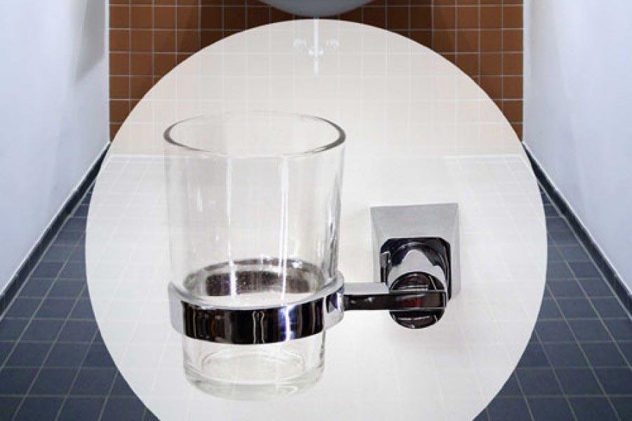 zahnputzbecher halter chrom 24h versand g nstig kaufen. Black Bedroom Furniture Sets. Home Design Ideas