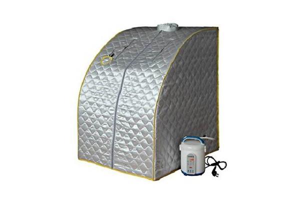 Mobile Dampfsauna - Wellness Sauna für Zuhause