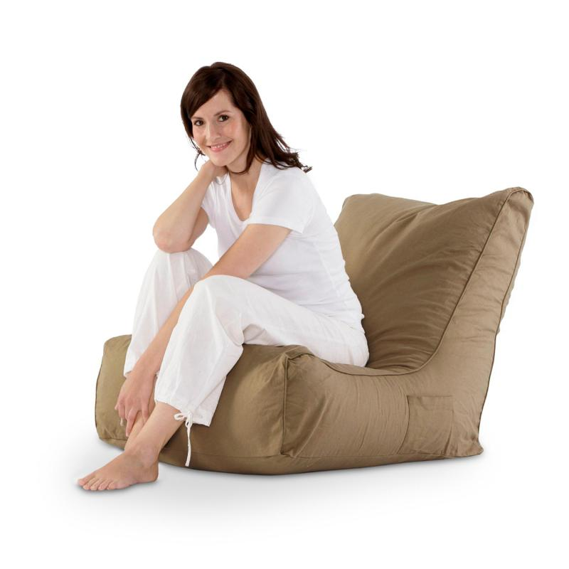 Sitzsack Lounge Chair beige