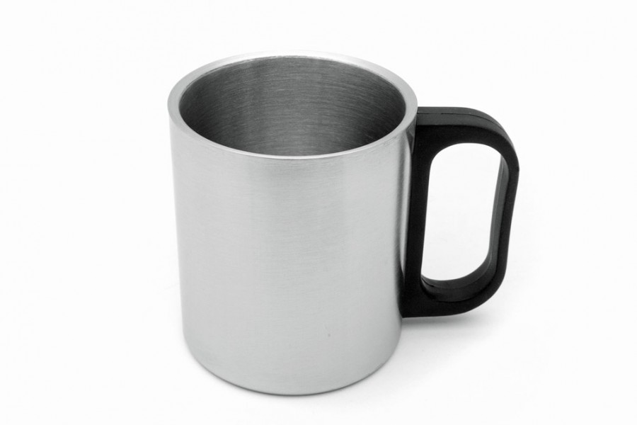 Edelstahl Tasse für USB Tassenwärmer