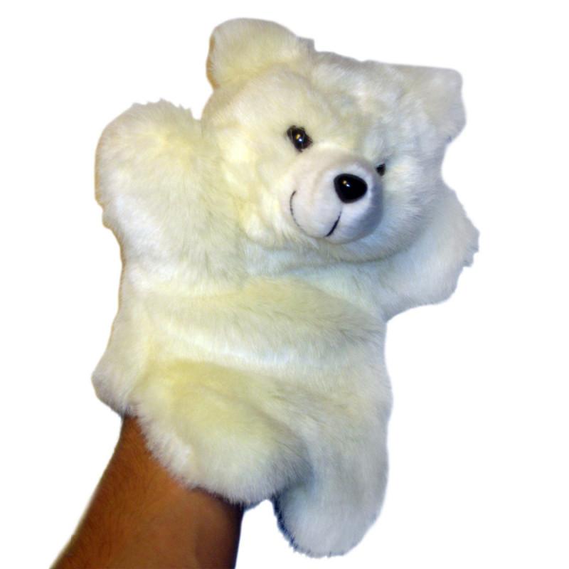 Handspielpuppe Eisbär