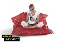 Smoothy Sitzsack Outdoor Supreme in Zinnober-Rot